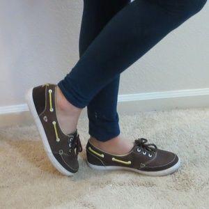 DVS True *7.5* Brown/Yellow Sneakers